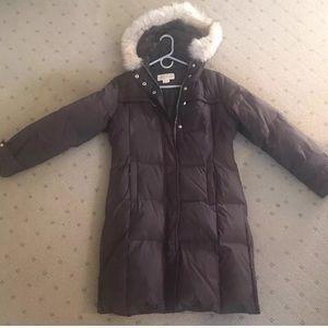 Michael Kors Brown Puffer Coat